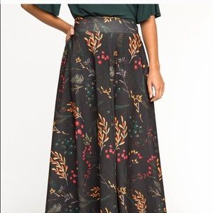 NWT Agnes  Dora Ball Skirt XS woodland long skirt